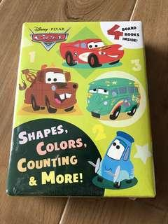 Disney Cars 4 Board Books - Shapes, Colorado, Counting and More
