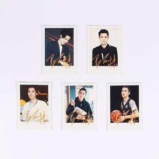 🚚 BN Dylan Wang 王鹤棣 Polaroids (x5)
