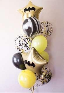 🚚 Batman Balloon Bouquet