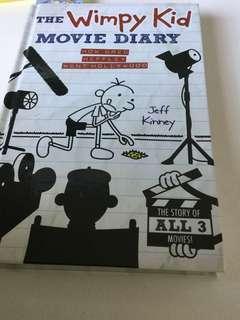 the wimpy kid movie diary(written by Jeff Kinney)