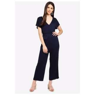 Cotton On Baylie Batwing Jumpsuit in Navy