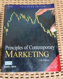 Principles of Contemporary Marketing 15th Edition