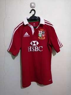 2013 original Adidas british irish lion rugby jersy