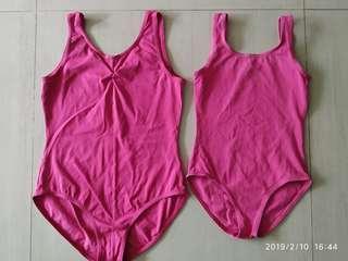 Sonata Ballet Leotard - Dark Pink Size 4 & 1