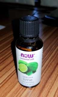 NOW essential oil Lime (citrus aurantifolia) #MakeSpaceForLove #MFEB20