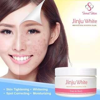 Jinju White Brightening Sleeping Mask