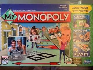 Monopoly 大富翁 Made in USA (Make you own game)