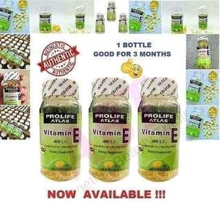 Authentic! Profile Atlas Vitamin E 💕