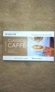 (包郵) Habitu咖啡換領券