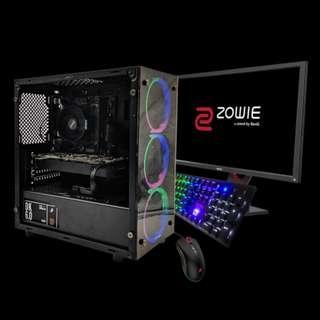 🚚 1stPlayer Fire Dancing V3 (R3-2200G/8GB/GTX 1060/240GB) DIY Custom Desktop PC