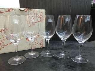 全新10隻玻璃酒杯 紅酒杯