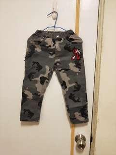 🚚 男寶迷彩褲