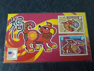 Singapore Mint Sheet