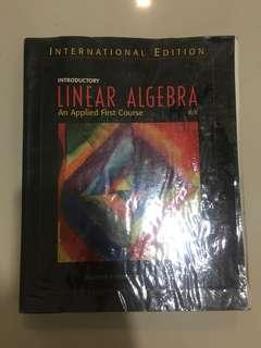 Introductory Linear Algebra (An Applied First Course)