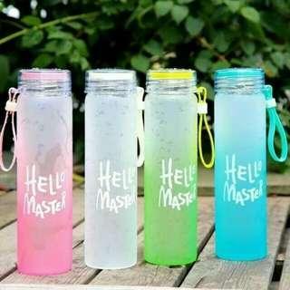 Botol Kaca/botol minum/botol karakter