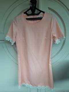 THIS IS APRIL PINK DRESS