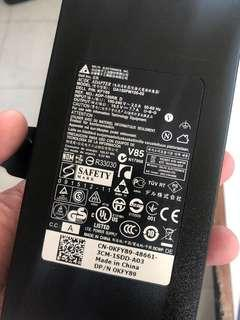 Dell Alienware power adapter brick