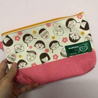 🚚 櫻桃小丸子🍒全新化妝包 收納包 零錢包 雜物包 鑰匙包