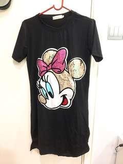 Minnie Mouse Black Dress
