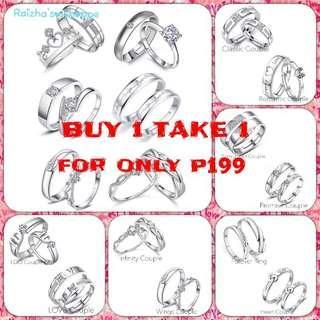 Promo!!! Couple Rings