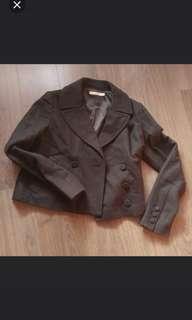 Izzue wool cropped jacket