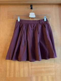 Lowrys farm 棗紅色 短裙