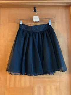 Lowrys farm 黑色 短紗裙