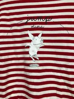 🚚 Olivia紅白條紋上衣(queen shop)