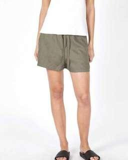 Assembly Label Base Linen Shorts
