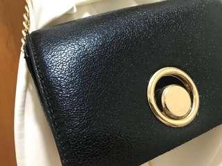 Mango black bag crossbody 袋 clutch 黑色 小袋子