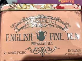 英國代購/英國早餐茶/English breakfast tea/2款包裝
