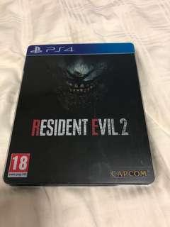 🚚 Resident Evil 2 Remake (Steel Case)