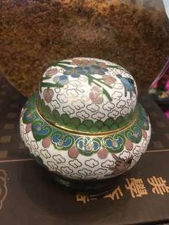 北京景泰藍小擺設品連托