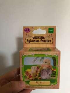 森林家族 嬰兒車 推車 bb車玩具
