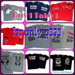 Promo!!! B2 Couple Shirts