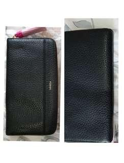 Brand new authentic fossil long wallet