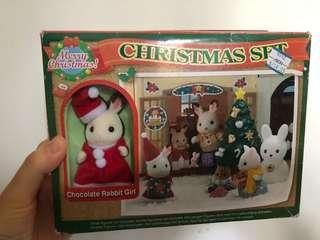 森林家族 聖誕紀念款 聖誕樹聖誕兔