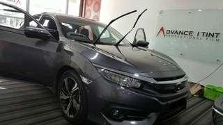 Car tinting service