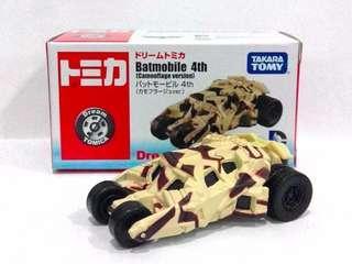 全新 Tomica Batmobile 4th (Camouflage version)