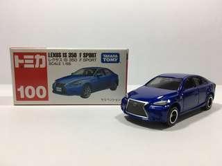 全新 Tomica Lexus IS 350 F Sport