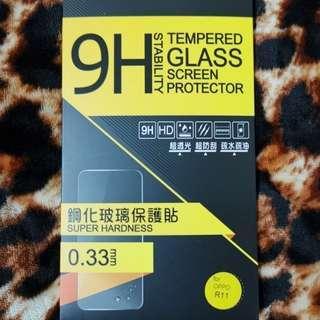 OPPO R11 9H鋼化玻璃貼非滿版 保護貼 0.33 疏水疏油超抗刮耐