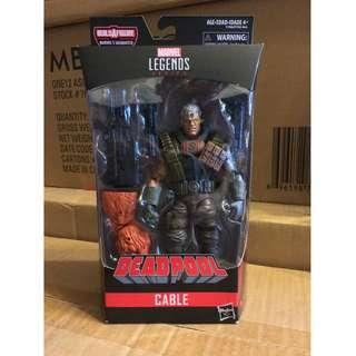 全新正版Marvel Legends Cable Mezco SHF Mafex DC NECA Deadpool