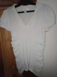 Kamiseta White polo shirt