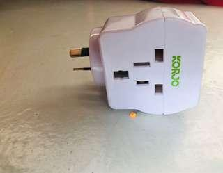 Travel Adapter for Australia multi reverse