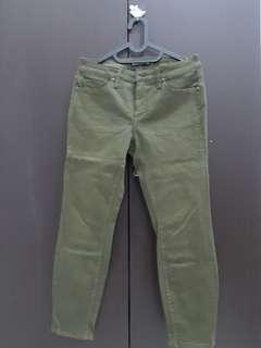 Army Greean Jeans - Hardware