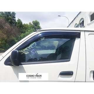 """Chery Transcom / H13 Van 2011- present 4"""" Door Visor Air Press COSMO Brand"""