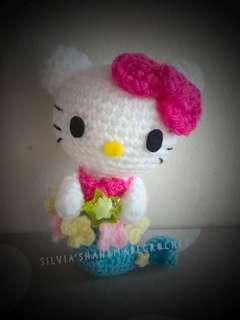 💕 Crochet Hello Kitty Horoscope (Pisces)