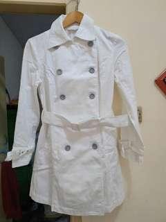 Trench Coat White