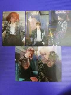 (WTS ASAP) BTS Unofficial Wings Concept Book PC Photocard Jin J-Hope Suga Jungkook V