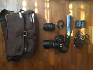 Nikon d60 full set